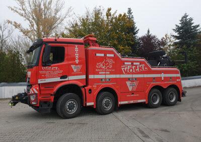 Abschleppwagenunterfahrlift von Völkl