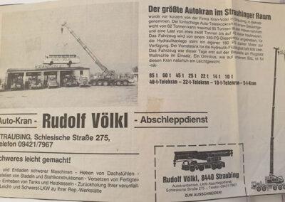 Autokran von Völkl