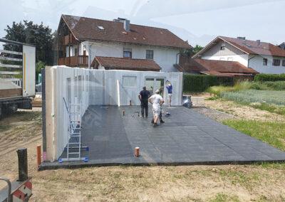 Fertighäuser aufstellen in Straubing und Umgebung