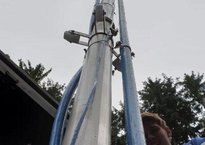 Rohrentfernung aus Brunnen in Straubing