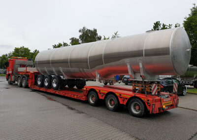Schwertransport in Straubing