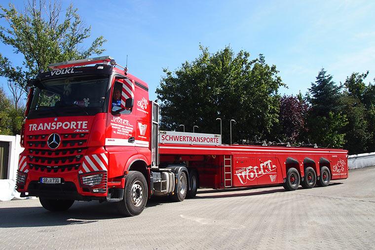 Transporte mit Innenlader in Straubing